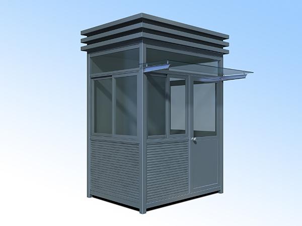 1.5x2.0钢结构岗亭