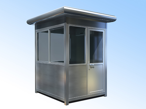 1.5x1.8不锈钢岗亭
